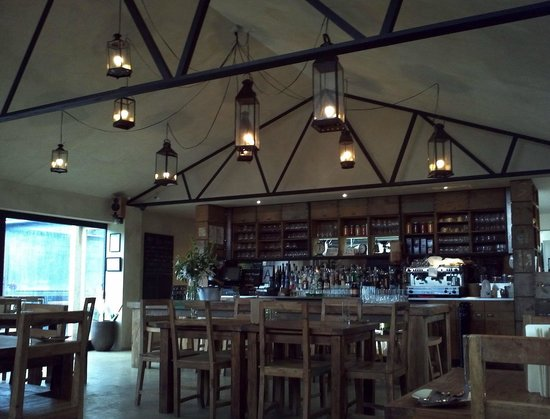the tasting shed - interior & bar