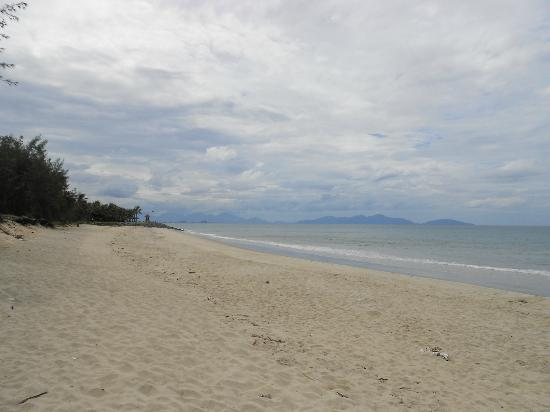 Cua Dai Beach : The great stretch of deserted beach!