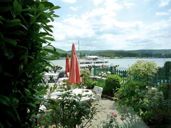 Hotel Rhein Residenz: Blick von der Restaurant-Terrasse