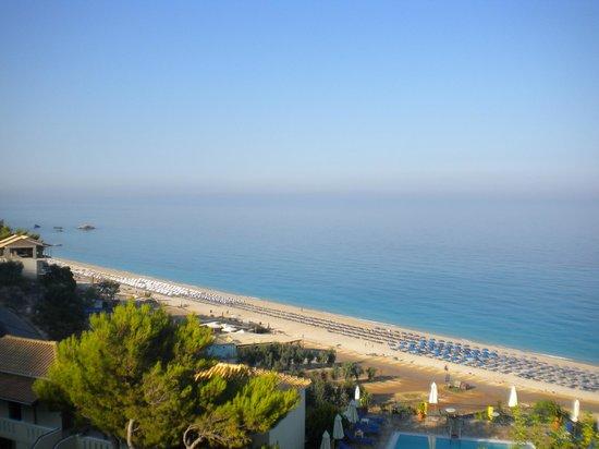 Hotel Sirios Kathisma: Το απέραντο γαλάζιο από όλες τις βεράντες δωματίων του ξενοδοχείου