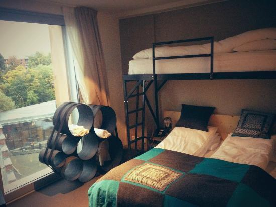 PS:Hotell: Three person family room