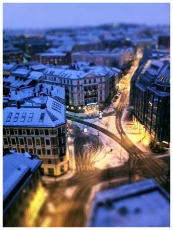 5a62c3c76d8809 Pour ne rien gacher, la neige... - Picture of Radisson Blu ...