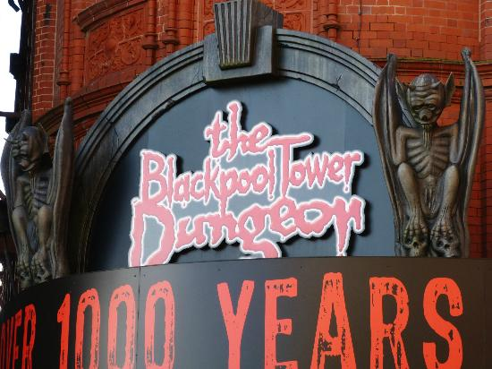 The Blackpool Tower Dungeon: outside can't take pics inside