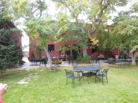 Chamberlin Inn: Garden