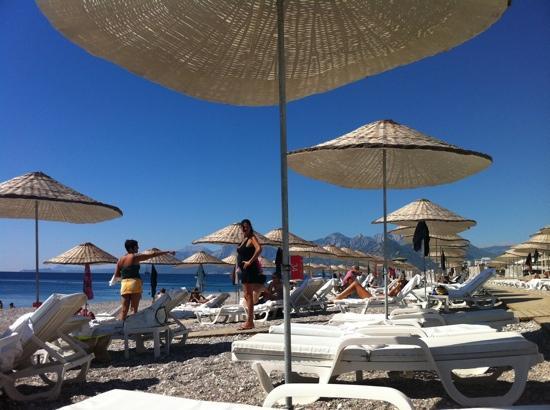 Hotel Su : la spiaggia