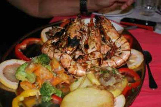 Tembo Village Resort Watamu: Gambas!!!!