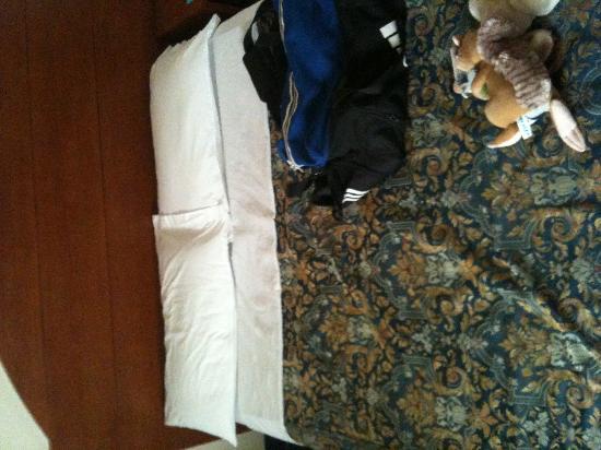 City Hotel: ero contro il muro a 15 cm dal fondo del letto