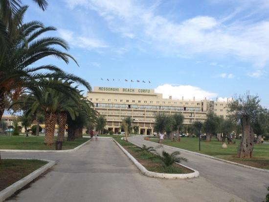 Moraitika, Grecia: ingresso