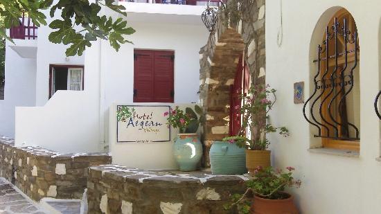 Hotel Aegean Village: L'entrée principale