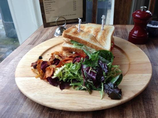 Stokes of Stockbridge: club sandwich ,