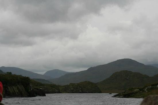 Lake Hotel: The Lakes on the way down by boat from the Gap of Dunloe