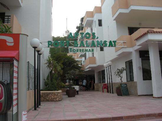Balansat Resort: Entrada Aptos.