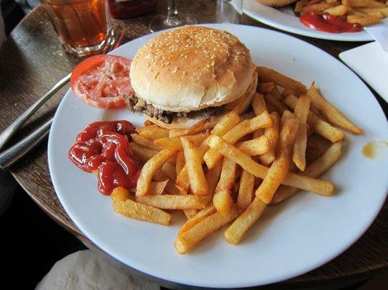 Le Lutece: Cheese Burger
