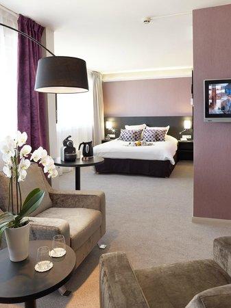 Best Western Plus Hotel Metz Technopole : suite