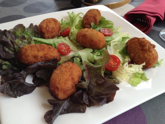 Restaurante Sol & Tapas: croquette de jambon