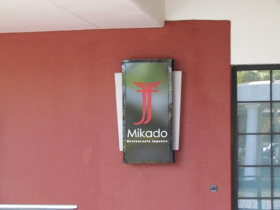 Catalonia Royal Bavaro: Japanese Restaurant.. Mikado on the family side