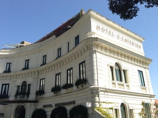 Hotel Santa Caterina: ホテル外観