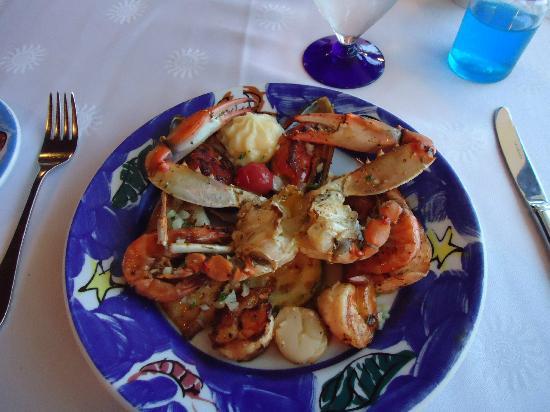 Grand Bahia Principe Tulum: Seafood Restaurant