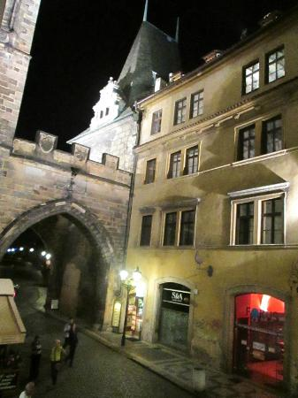 Charles Bridge Economic Hostel: view
