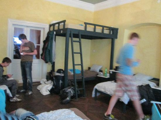 Charles Bridge Economic Hostel: room