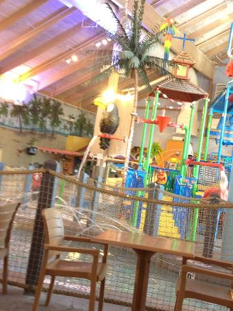 Coco Key Water Resort at Courtyard by Marriott Fitchburg: bright and cheerful