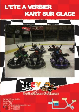 Karting Extreme Verbier : Summer Ice karting in Verbeir
