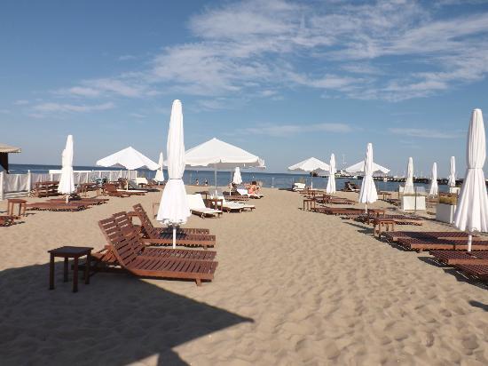 Sheraton Sopot Hotel: Hotel beach area