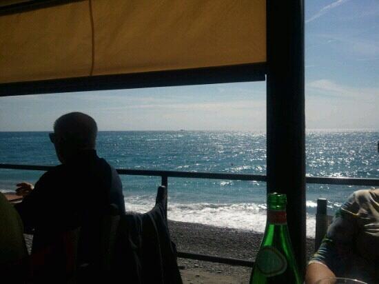 Lido Beach : Visuale dal tavolo