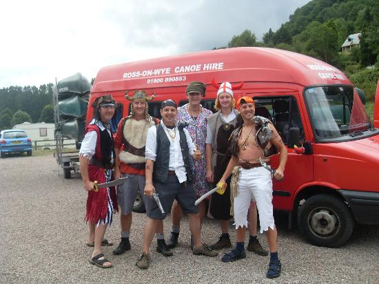 Ross on Wye Canoe Hire - Day Trips: pirates on the wye