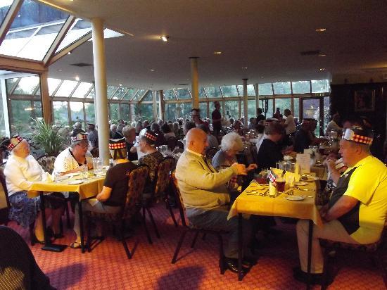 Tyndrum, UK: Dining room