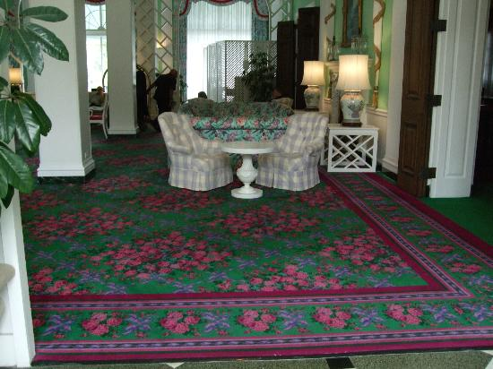 The Greenbrier: One of many sitting rooms