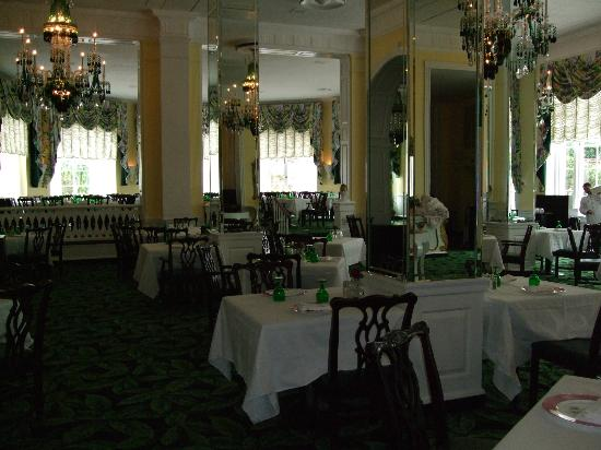 The Greenbrier: Main dining room
