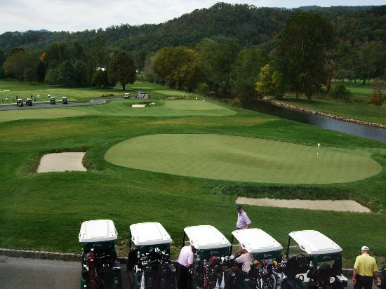 The Greenbrier: Golf course
