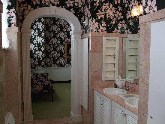 The Greenbrier: One of many beautiful restrooms