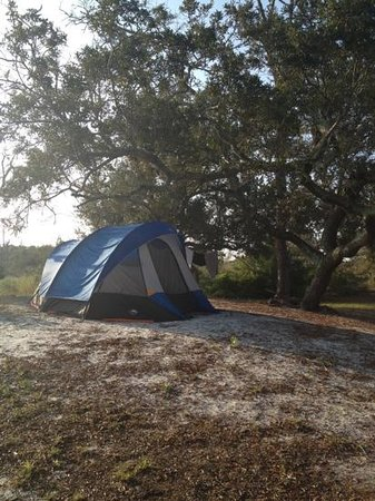 Fort Pickens Campground: loop A spot number 7 was awesome.