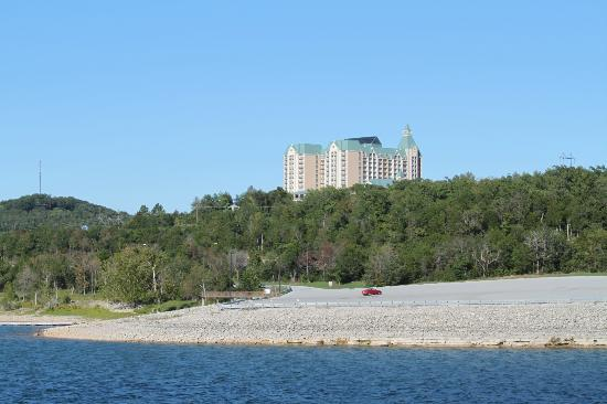 Chateau on the Lake Resort & Spa from Table Rock Lake