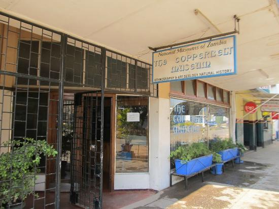 Copperbelt Museum Entrance