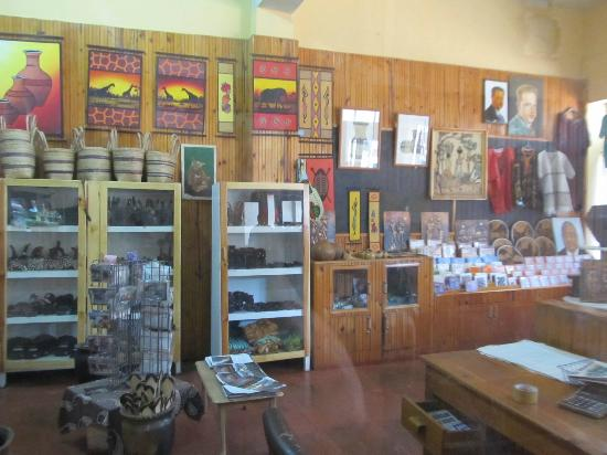 Copperbelt Museum: Gift shop
