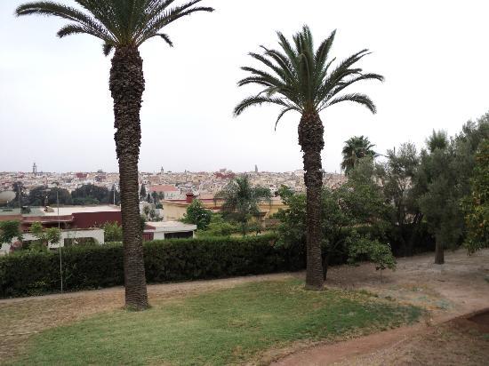 Hotel Transatlantique Meknes: uitzicht op mknes