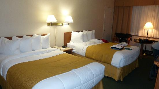 Quality Inn & Suites: très spacieux
