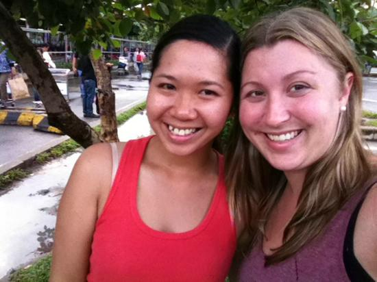 Back of the Bike Tours: Thuy and I at the end of our sightseeing day!