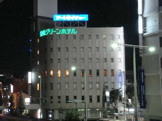Toyohashi Green Hotel: 駅から見えました