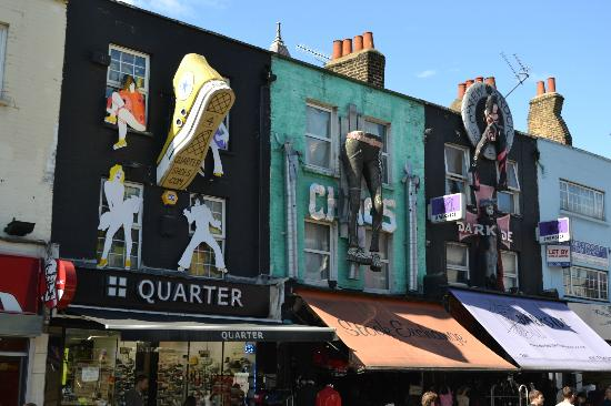Camden Market: Great store displays