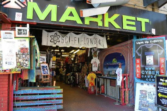 Camden Market: This was a cool place!