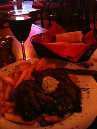 Bistro: Best steak I had in my life.