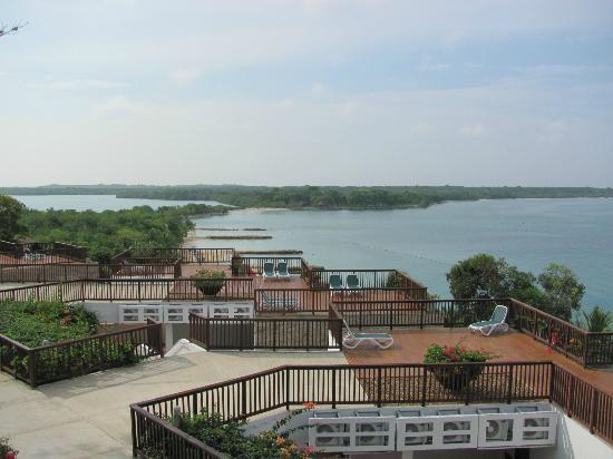 Decameron Baru: Vista de Playa Puntilla desde la Habitación