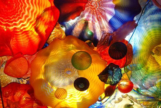 Chihuly Garden and Glass: A magic ceiling
