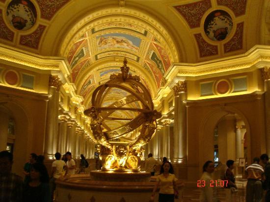 The Venetian Macao Resort Hotel: Main Lobby