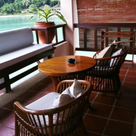 El Nido Resorts Lagen Island: バルコニー