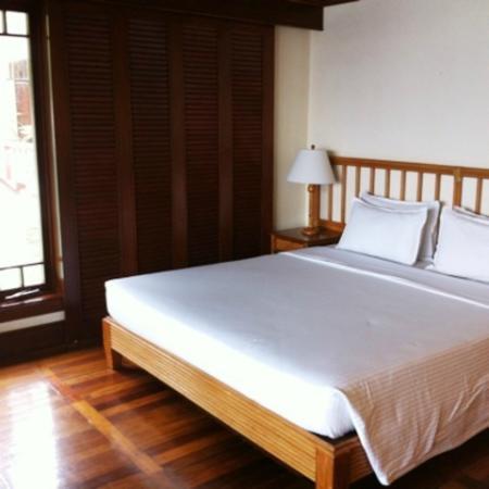El Nido Resorts Lagen Island: メインのベッド